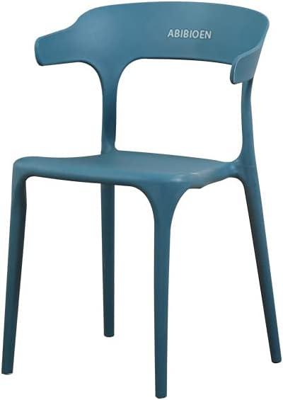 ABIBIOEN Nordic Thickened Household Award backrest Tucson Mall Plastic Chair