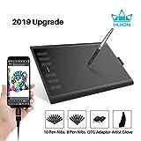 HUION Inspiroy H1060P 2019 Actualización de Dibujo de la Tableta gráfica...