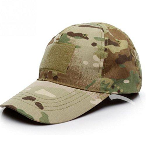ECYC Camouflage Tactical Hat Patch ArméE Tactique Baseball Cap