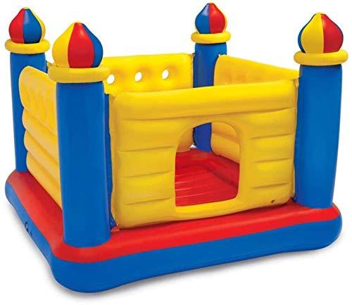 SANNA Castillos hinchables de los niños castillo de moda juguetes de los niños del hogar trampolín inflable al aire libre paraíso castillo interior rebote cama juguetes
