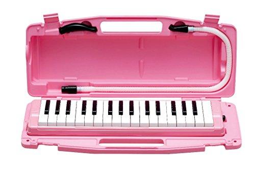ゼンオン鍵盤ハーモニカ ピアニー 323AH PINK