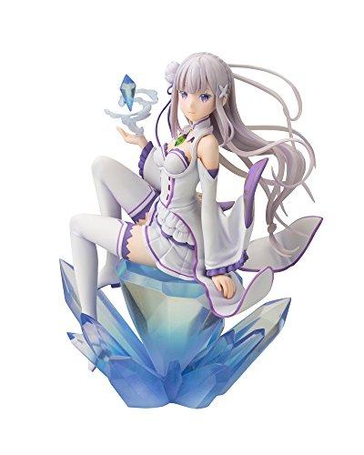 Kotobukiya Re: Zero -Starting Life in Another World- Emilia (Repro) ANI Statue Action Figure