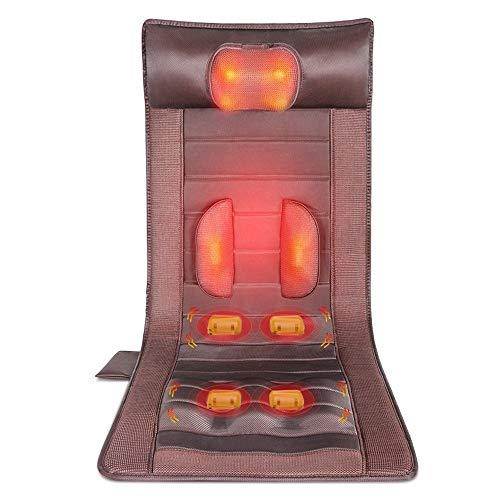 YIJIAHUI kussen voor massagelbed, multifunctioneel, elektrische neksteun, massager van de Dorsale netstekker compleet verwarmd lichaam massage matras mat voor thuis en op kantoor