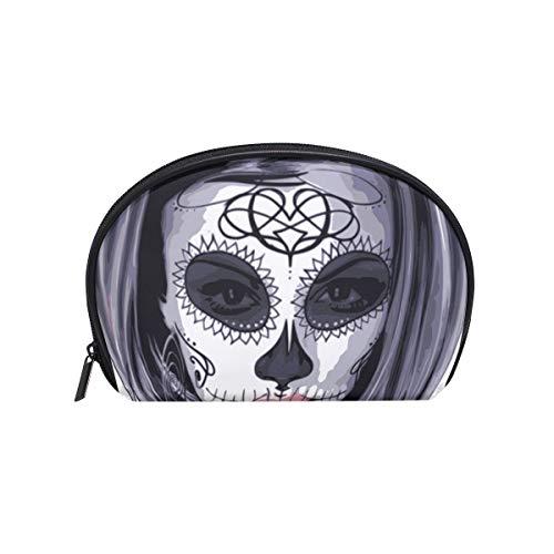 COOSUN Masker Carnaval Horror Kostuum Vrouw Cosmetische Pouch Koppeling Make-up Bag Travel Organizer Case Toilettas voor Vrouwen