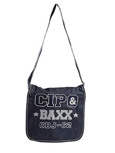 Cipo & Baxx Schultertasche Phoenix blau