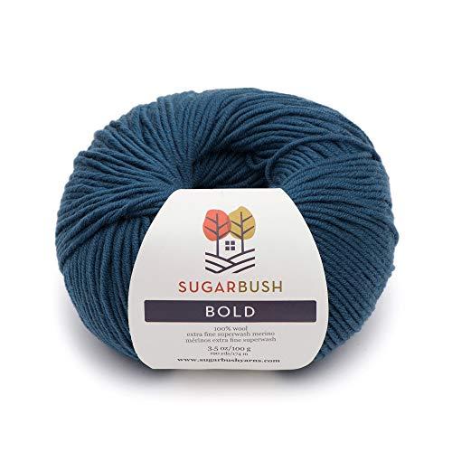 Sugar Bush Yarn Bold Knitting Worsted Weight, Mossy Teal