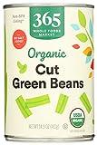 365 by WFM, Beans Green Cut No Salt Added Organic, 14.5 Ounce