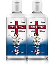 Tri-Activ 72% Alcohol Based Instant Hand Sanitizer – (500 ml)- Pack of 2