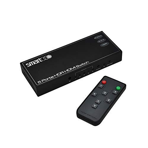 XOLORspace 23051 Switch HDMI 4K HDR 4K 60Hz HDMI 2.0 HDR HDM