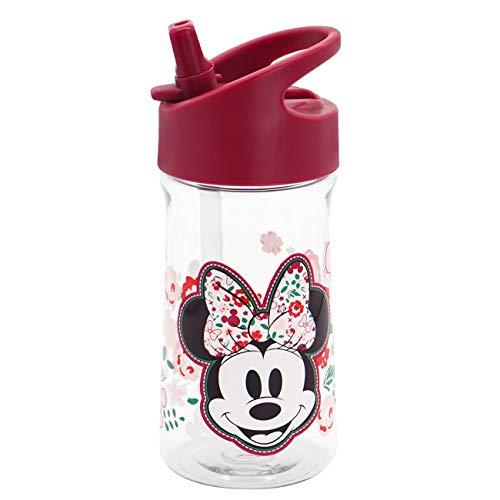 Disney Mickey & Minnie Kids Trinkflasche Disney Minnie Kids 350ml Neu Botella, Unisex niños, Multicolor, 350 ml