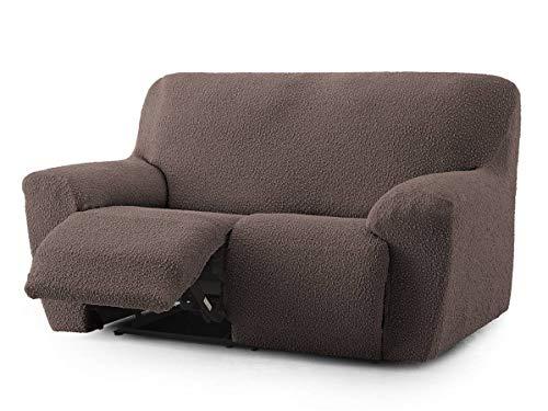 Lanovenanube Eysa Copridivano Relax ROC 2 Posti, Color Ecru C00 Relax 2 plazas marrone