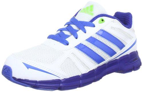 adidas Adifast K G96379, Unisex - Kinder Laufschuhe, Weiß (Running White Ftw / Blast Blue F13 / Pride Ink F13), EU 35
