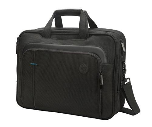 HP SMB Topload (T0F83AA) Umhängetasche mit Reißverschluss für Laptops, Tablets ( 15,6 Zoll) schwarz