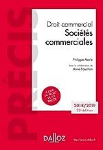Droit commercial. Sociétés commerciales - Édition 2018-2019 de Philippe Merle