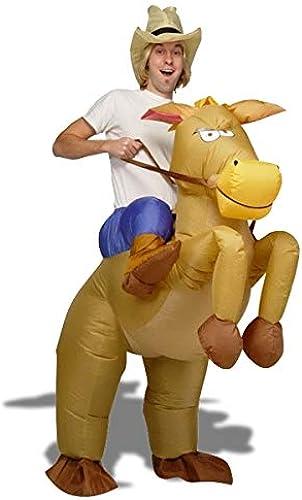 Con 100% de calidad y servicio de% 100. Vaquero juego de lujo del caballo inflable inflable inflable  con 60% de descuento