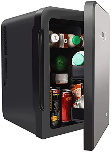 10L Mini Fridge 2 in 1 Car Refrigerators with Cooling and Heating Function, Portable Freezer Small Freezer for Car, Camping Minibar Jialele