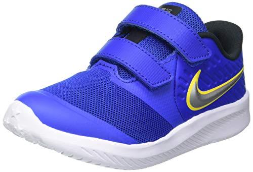 Nike Star Runner 2 (TDV), Scarpe da Corsa, Game Royal/Mtlc Silver-Black-Speed Yellow, 25 EU