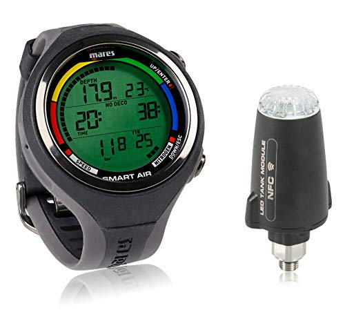 mares dive watches Mares Smart Air Dive Computer Wrist Watch with or Without LED Transmitter
