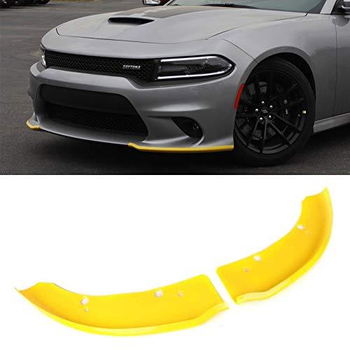 Front Bumper Lip Splitter Protector Replacement for 2015-2020 Dodge Charger Scat Pack/SRT Models