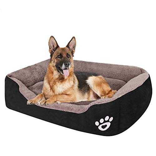 Pet Dog Bed for Medium Dogs(XXL-Large for Large Dogs),Dog Bed with Machine Washable Comfortable and Safety for Medium and Large Dogs Or Multiple