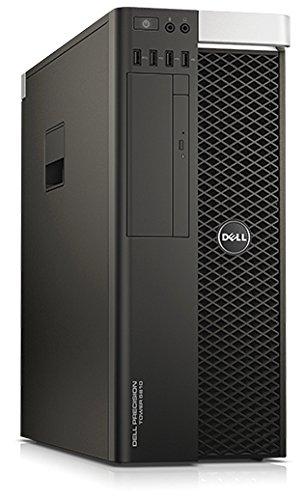 Dell CA007PT5810MUWS Precision T5810W7P SV DESKTOP PC (Intel Xeon E516203.5GHz, 8GB RAM, 500GB HDD/Windows 7Professional) Black