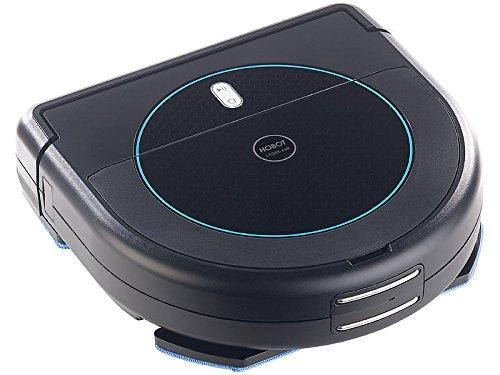 Sichler Haushaltsgeräte Wischroboter: Multiroom-Saug- & Wisch-Roboter mit 4-Phasen-Reinigung & Ladestation (Multiroom Saug Wischroboter)