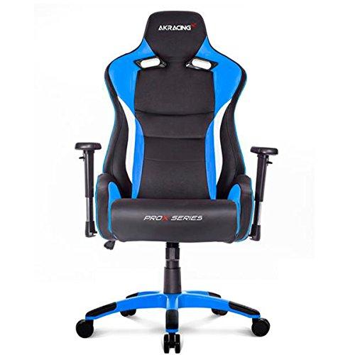 AKRacing Prox - AK-PROX-BL - Silla Gaming, Color Negro/Azul
