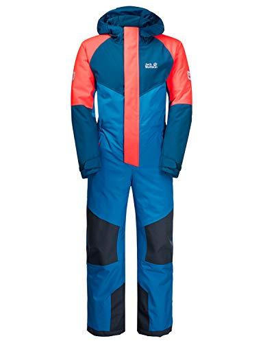 Jack Wolfskin Kinder Snow Snowsuit Kids Overall, Blue Pacific, 116