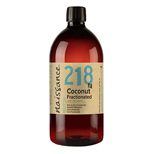 Naissance Huile de Coco Fractionnée (n° 218) - 1 litre - 100% pure et naturelle – inodore, légère et émolliente, sans film gras
