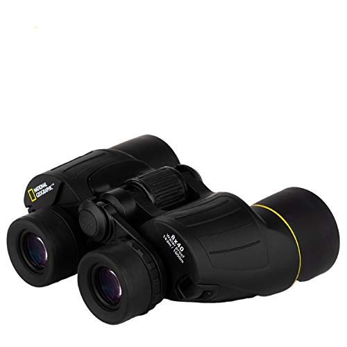 National Geographic 8 X 40 Powerful Binoculars | Lightweight at 1.5LBS HIGH END Optics | Bird Watching, Sight Seeing, Hunting, Outdoors, Sports | Kids and Adults | CASE Strap Lens Covers Included