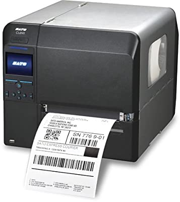 Sato WWCL90061 Series CL6NX Industrial Thermal Transfer Printer, 203 dpi Resolution, 6.5""