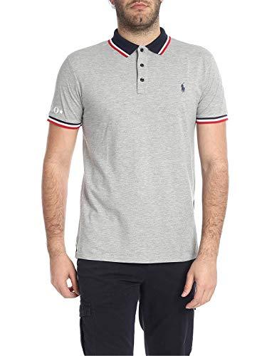 Ralph Lauren Luxury Fashion Herren 710753174001 Grau Baumwolle Poloshirt | Jahreszeit Outlet