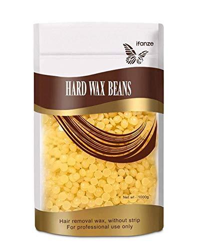 iFanze Wachsperlen Wachsbohnen Wax Beans 1kg - Heisswachs zur Haarentfernung - Brazilian Waxing. Für Intim, Beine, Arme und Gesicht