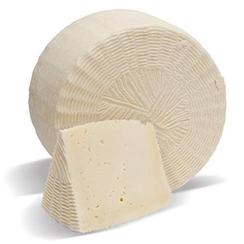 Sicilia Bedda - Pecorino Primo Sale Siciliano Naturale/Pepato - Canestrato di Sicilia - Caciocavallo - Vastedda Siciliana - Prodotto 100% Siciliano (Primo Sale Naturale Formetta (Gr. 430_480))