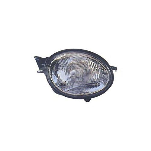 Hoofdkoplamp/koplamp rechts/passagierszijde, elektrisch, H4 voor TOYOTA COROLLA 1998-2001