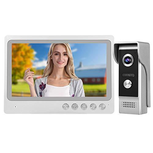 Videoportero 12 Tonos de Llamada de acordes Visión Nocturna WiFi Video Intercomunicador Kit TFL-LCD Kit de(European regulations)