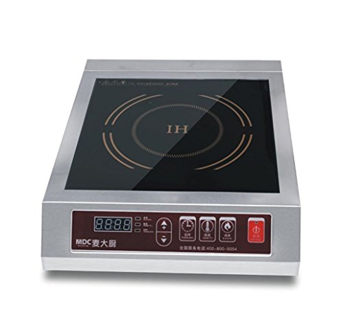 Mai Cook Stainless Steel 3500W Electric Induction Cooktop, Electric Countertop Burners