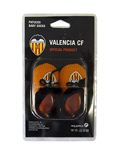 Valencia CF Patvcf Patucos, Naranja/Blanco, Talla Única
