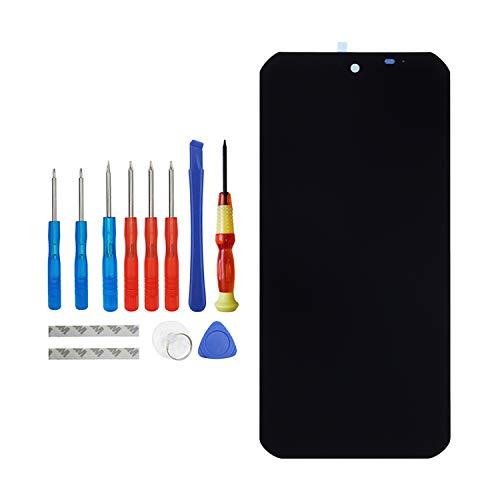 Vvsialeek Pantalla de repuesto AMOLED compatible para Dooee S88 Pro, reparación de pantalla táctil LCD con kit de herramientas