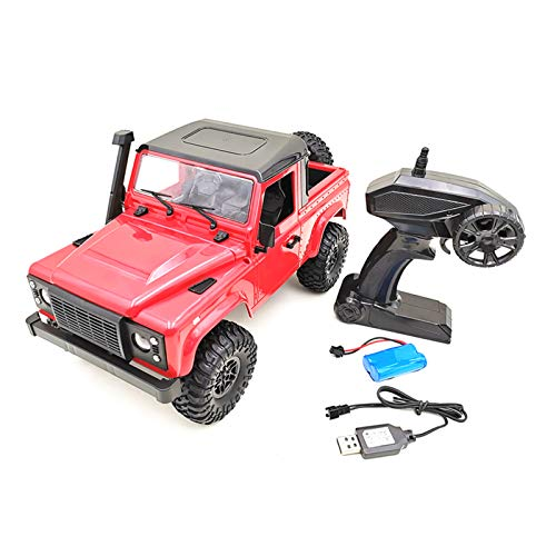 YU-NIYUT 2.4G 1:12 Scale Pickup Truck 4WD RC Rock Crawler Car DIY Assembly RC Vehicle Kit Vehicle Toys for Boys Kids and Adults