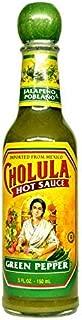 Cholula Sauce Hot Green Pepper 5 ounce Pack of 3