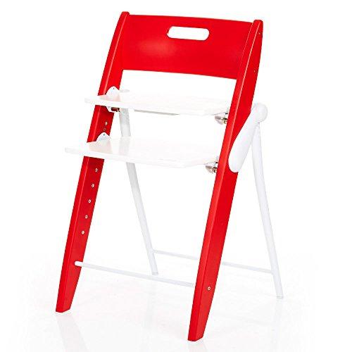 ABC Design 1110502 Hochstuhl, rot