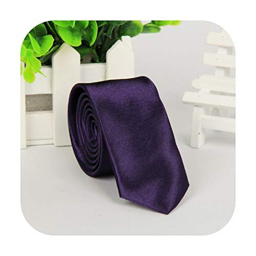 cravatta uomini solido skinny cravatta moda casual slim fit cravatta formale festa di nozze cravatte maschio farfalle di seta business nero cravatta u