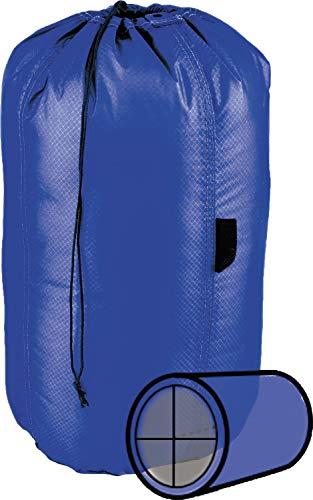 Gobi Gear Hoboroll 18L - Multi Compartment, Compression Stuff Sack, Mineral Blue