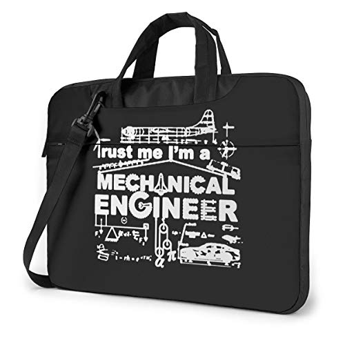 Trust Me I'm A Mechanical Engineer Funny Laptop Case Laptop Shoulder Messenger Bag Sleeve for 13 To15.6 Inch