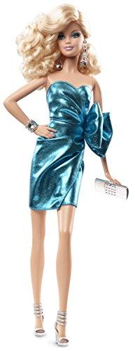 Barbie - Cjf49 - The Look - Robe Bleu