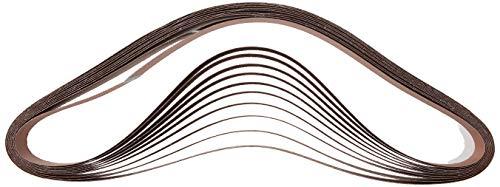 POWERTEC 111540 2 x 72 Inch Sanding Belts   40 Grit Aluminum Oxide Sanding Belt   Premium Sandpaper – 10 Pack