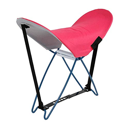 Strandsitz Kopfstütze Rückenlehne Falthocker Anglerstuhl Relaxy (Strandsitz pink)