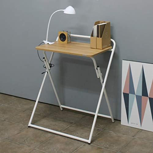 ZZDZ Klapptisch, ausklappbarer Multifunktionswandtisch Esstisch Computertisch Schreibtisch (Color : White A)