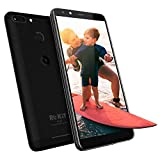 ROKiT iO 3D Android Phone - 5.45' GSM Unlocked Smartphone - 4G LTE Dual Sim Cell Phone w/ 16GB Memory & 8MP Camera (Black)